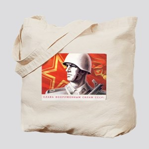 Soviet Union Soldier Tote Bag