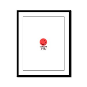 thinking of you Framed Panel Print