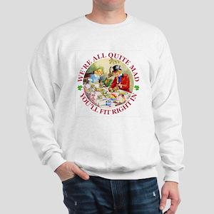 WE'RE ALL MAD - RENE CLOKE Sweatshirt