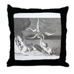Canto22-Demons Throw Pillow