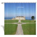 Old Fort Niagara Barracks Shower Curtain