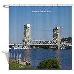 Houghton Hancock Bridge Shower Curtain