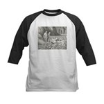 Canto32- Souls in Ice Kids Baseball Jersey