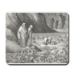 Canto32- Souls in Ice Mousepad