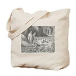 Canto32- Souls in Ice Tote Bag