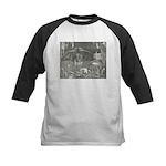 Canto 34 - Dante meets Lucife Kids Baseball Jersey
