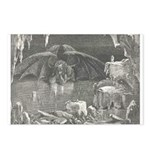 Canto 34 - Dante meets Lucife Postcards (Package o
