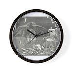 Canto 34 - Dante meets Lucife Wall Clock