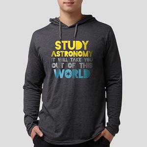 Study Astronomy Long Sleeve T-Shirt