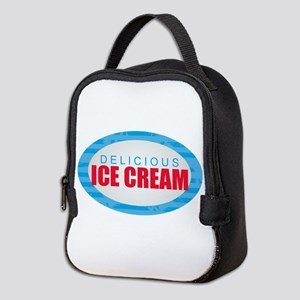 Ice Cream Neoprene Lunch Bag