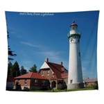 Seul Choix Point Lighthouse Wall Tapestry