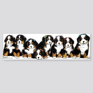 Bernese Mountain Dogs Bumper Sticker