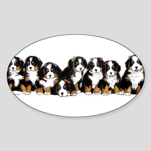 Bernese Mountain Dogs Sticker