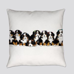 Bernese Mountain Dogs Everyday Pillow