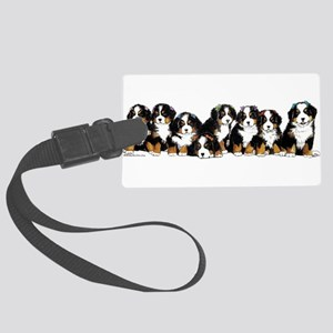 Bernese Mountain Dogs Luggage Tag
