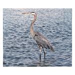 Blue Heron Water King Duvet