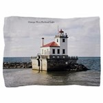 Oswego West Pierhead Light Pillow Sham