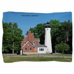 Port Sanilac Lighthouse Pillow Sham