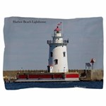 Harbor Beach Lighthouse Pillow Sham