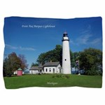 Pt. Aux Barques Lighthouse Pillow Sham
