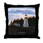 Cap Gaspe Light Throw Pillow