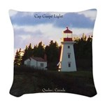 Cap Gaspe Light Woven Throw Pillow