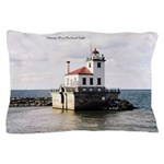Oswego West Pierhead Light Pillow Case
