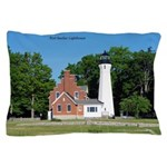 Port Sanilac Lighthouse Pillow Case