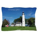Pt. Aux Barques Lighthouse Pillow Case