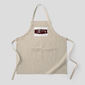 """HOLLABACK"" BBQ Apron"