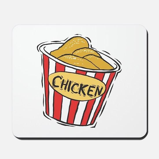 Bucket of Chicken Mousepad