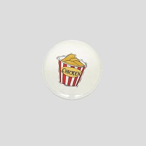 Bucket of Chicken Mini Button