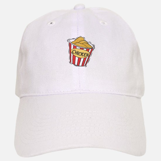 Bucket of Chicken Baseball Baseball Cap