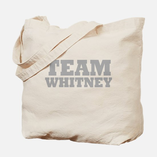 Team Whitney Tote Bag