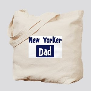 New Yorker Dad Tote Bag