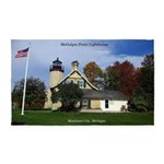 Mcgulpin Point Lighthouse Area Rug
