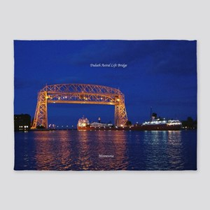 Duluth Aerial Lift Bridge & John G. 5'x7&#