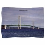 Mackinac Bridge From Mackinaw City Pillow Sham