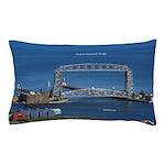 Duluth Aerial Lift Bridge Pillow Case