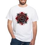 Spiral Dragon T-Shirt (white)