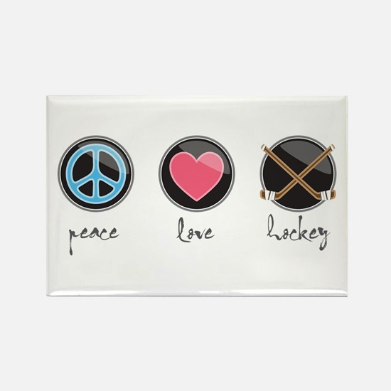 Peacelovehockey Magnets