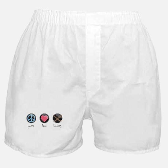 Unique Girls hockey Boxer Shorts