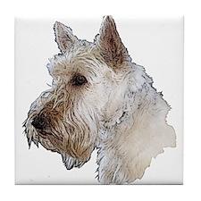 Scottish Terrier (Wheaten) Tile Coaster