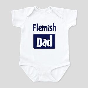 Flemish Dad Infant Bodysuit