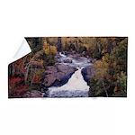 Beaver River Falls Beach Towel