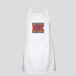 Gamers Don't Die They Respawn Dist Light Apron