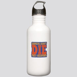 Gamers Don't Die T Stainless Water Bottle 1.0L