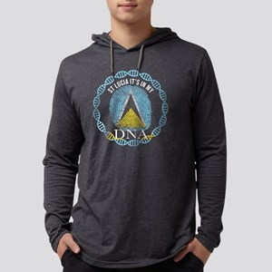 St Lucia Its In My DNA Long Sleeve T-Shirt