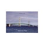 Mackinac Bridge From Mackinaw City 4' X 6'