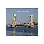 Houghton Hancock Bridge Throw Blanket